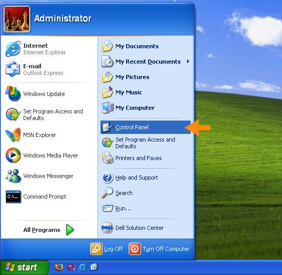 Windows XP – OpenDNS