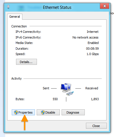 Windows 8 Configuration – OpenDNS